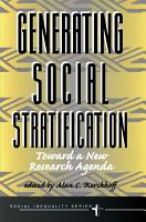 Generating Social Stratification PDF