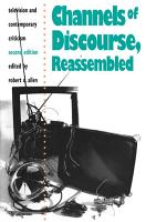 Channels of Discourse  Reassembled PDF