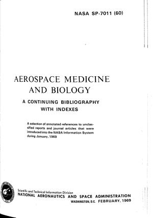 Aerospace Medicine and Biology PDF