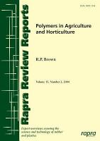 Polymers in Agriculture and Horticulture PDF