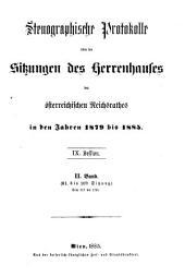 Stenographische Protokolle: Beilagen