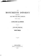 Cronache forlivesi di Leone Cobelli, dalla fondazione della città sino all'anno 1498