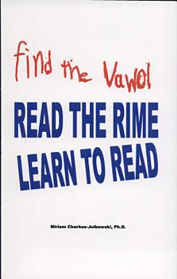 find the vawol READ THE RIME LEARN TO READ