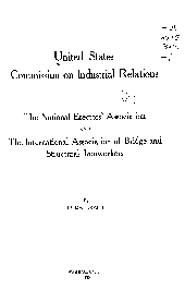 The National Erectors' Association and the International Association of Bridge and Structural Ironworkers