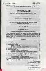 Patient Safety Improvement Act of 2003