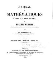 Journal de mathématiques pures et appliquées