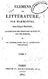 Elémens de littérature: Volume5