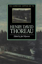 The Cambridge Companion to Henry David Thoreau