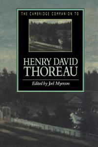 The Cambridge Companion to Henry David Thoreau PDF