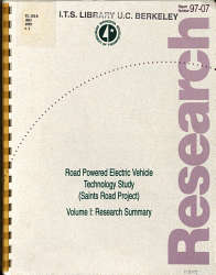 Road Powered Electric Vehicle Technology Study  Saints Road Project  PDF
