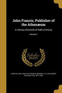 Download JOHN FRANCIS PUBL OF THE ATHEN Book