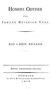 Odyssee: XIII. - XXIV. Gesang. 2