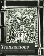Transactions: Volumes 13-15