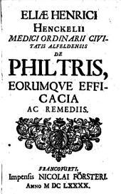 De Philtris ...