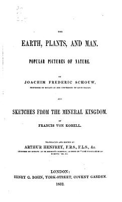 The Earth  Plants  and Man PDF