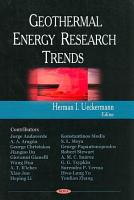 Geothermal Energy Research Trends PDF