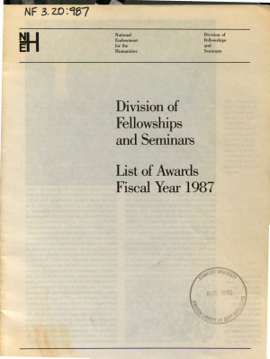 List of Awards PDF