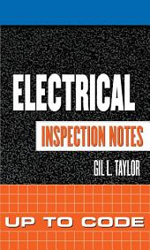 Electrical Inspection Notes: Up to Code