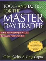 Tools and Tactics for the Master DayTrader  Battle Tested Techniques for Day  Swing  and Position Traders PDF