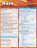Math Common Core Geometry 10th Grade Book