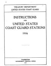 ... Instructions for United States Coast Guard Stations