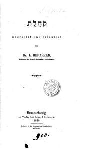 HXLHQ übers. und erläutert von L. Herzfeld