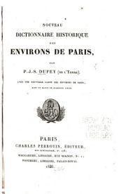 Nouveau dictionnaire historique des environs de Paris