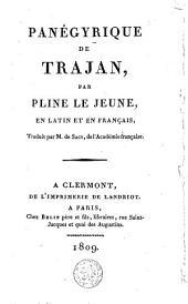 Lettres de Pline le jeune, en latin et en français, suivies du Panégyrique de Trajan: Volume 3