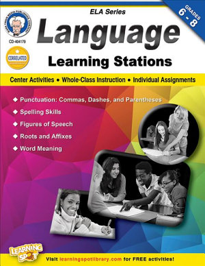 Language Learning Stations  Grades 6   8