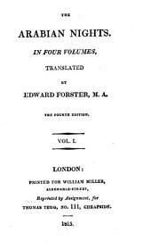 The Arabian Nights: Volume 1