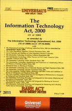 The Information Technology Act  2000 PDF