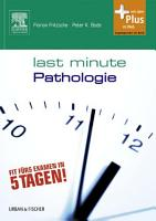 Last Minute Pathologie PDF
