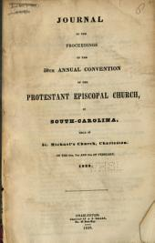Journal of the ... Annual Convention, Diocese of South Carolina