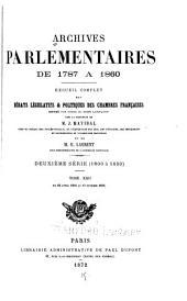 Archives parlementaires de 1787 à 1860: sér. (1787 à 1799) t. 1- 1875-19