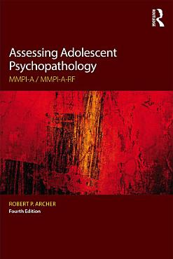 Assessing Adolescent Psychopathology PDF