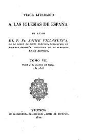 Viage literario á las iglesias de España: Volúmenes 7-8
