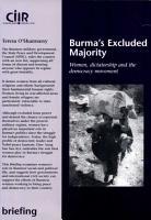 Burma s Excluded Majority PDF