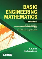 Basic of Engineering Mathematics Vol II  RGPV Bhopal  M P  PDF