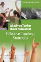 What Every Teacher Should Know About Effective Teaching Strategies PDF