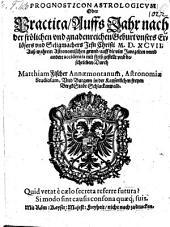 Prognosticon astrologicum Oder Practica auffs Jahr ... M.D.XVII.