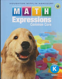 Math Expressions  Grade K PDF