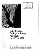 United States Geological Survey Yearbook PDF
