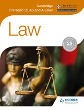Cambridge International AS and A Level Law
