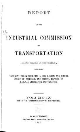 Report of the Industrial Commission on Transportation     PDF