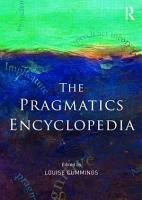 The Pragmatics Encyclopedia PDF