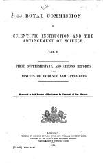 First, supplementary, and second reports, with minutes of evidence and appendices. 1872 (c.536)
