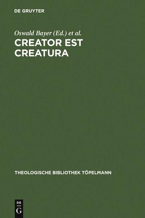 Creator est Creatura PDF