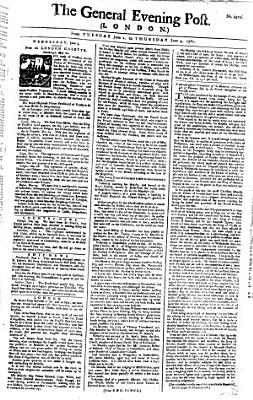 The General Evening Post