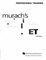 Murach s Beginning Visual Basic Net PDF