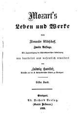 Mozart's Leben und Werke: Bände 1-2